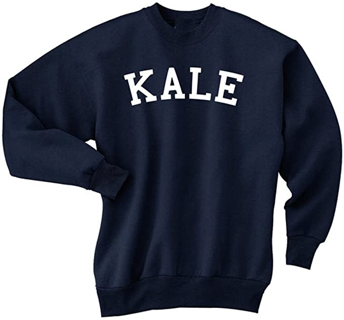 009d638c561683 NuffSaid Kale Sweatshirt Crew Neck Sweater Pullover - Premium Quality  (Small, Navy Blue)