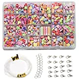 Ewparts Children DIY Bracelet Bead Art & Jewellery-Making , Bead string making set , Cultivate Color sensitive, Color will not Fade (Retro style)