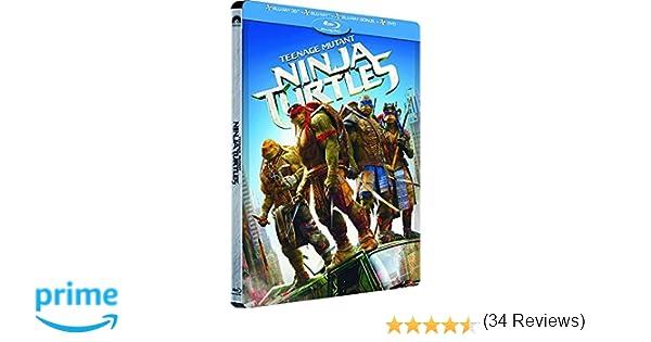 Steelbook Teenage Mutant Ninja Turtles Edition limitée Combo ...