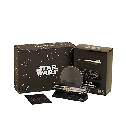 Amazon com: Loot Crate DX - Star Wars - Rey's Lightsaber Mini
