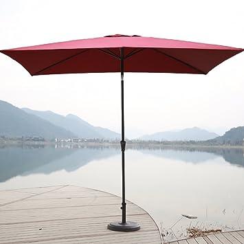 Captivating C Hopetree 6u00276u0026quot;x10u0027 Rectangular Patio Umbrella, Outdoor Market Umbrella