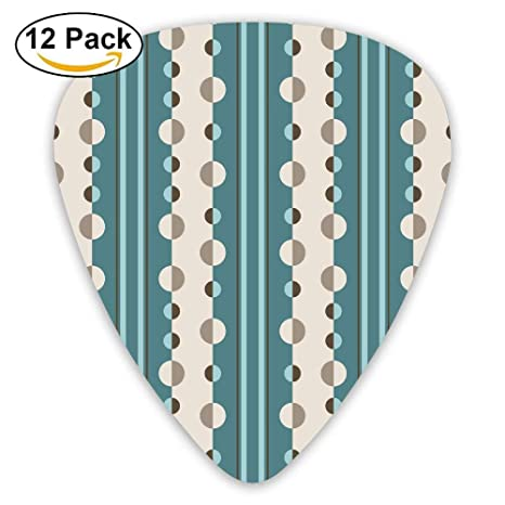 Circles and Stripes Geometric In Teal And Cream Fa Selecciones de ...