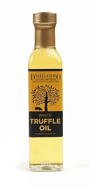 White Truffle Oil, 8 Ounce bottle