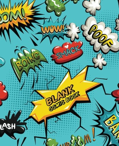 """Download Blank Comic Book: Create Your Own Comics Book,Comic Panel,For drawing your own comics, idea and design sketchbook,for artists of all levels 7.5x9.25"""" (Volume 1) pdf epub"""