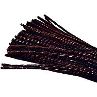 Kentop 100pcs Limpiapipas Chenilla Alambre Flexible de Peluche