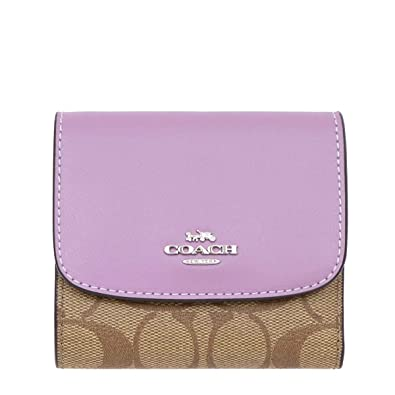 cbddff98037b45 Amazon   [コーチ] COACH 財布(三つ折り財布) F87589 カーキ×ジャスミン ...