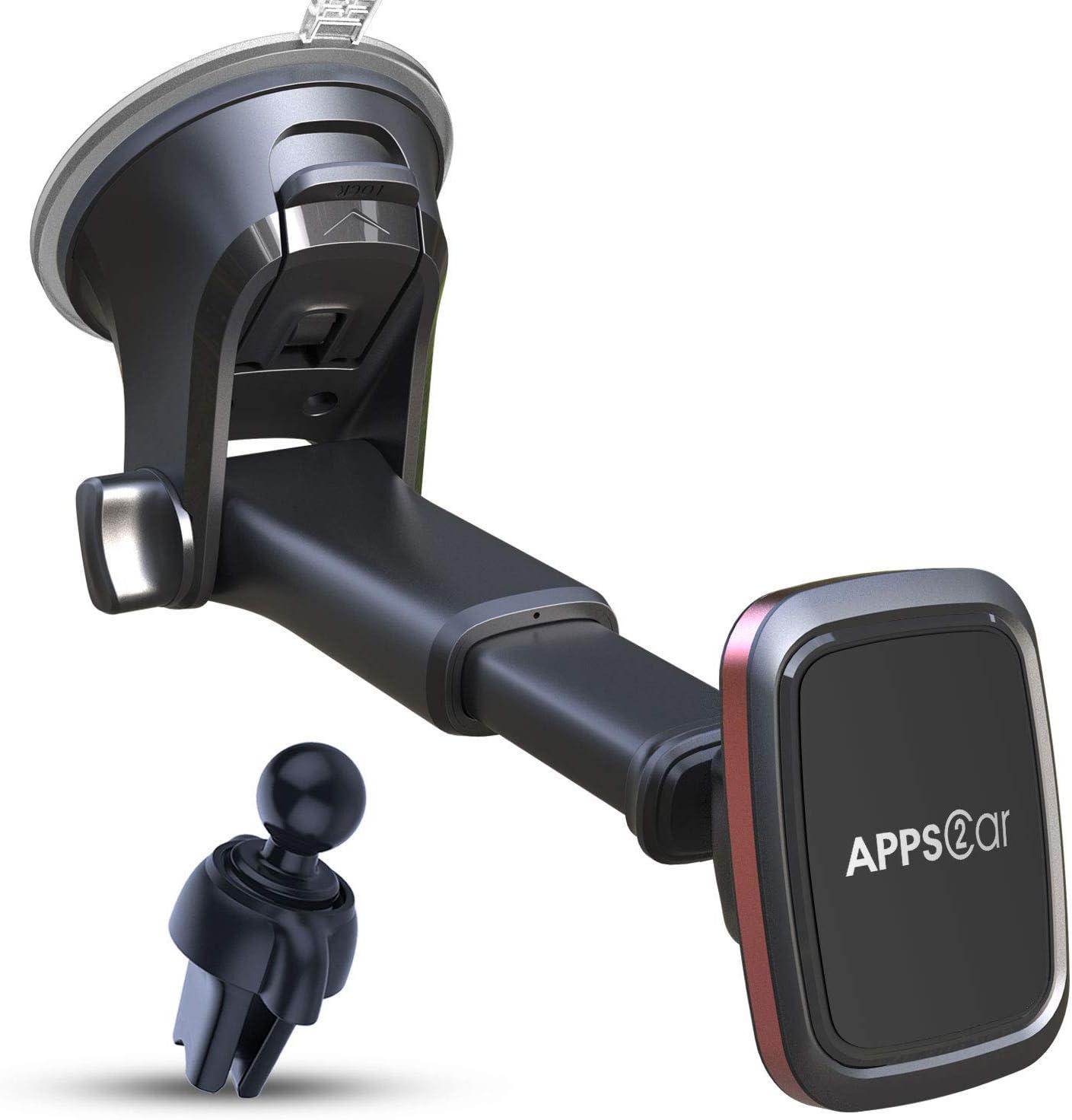 Car Phone Mount Holders 2 Pack Alquar 360/° Rotation Universal Stick on Dashboard for GPS Navigation 4351484832