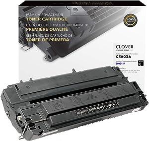 Clover Remanufactured Toner Cartridge for HP 03A C3903A | Black