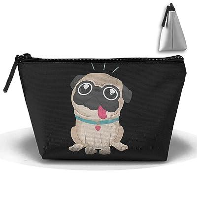I Love Pug Fashion Travel Bag Trapezoid