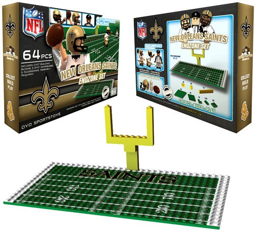 NFL New Orleans Saints Endzone Toy Set