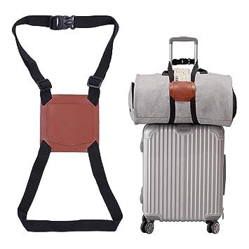 Amazon.com: Correa elástica para equipaje que añade una ...
