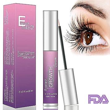 42a18386026 Eyelash Serum Lash Enhancer Serum OKEEY 5ml Eyelash Booster for Longer,  Darker & Thicker -