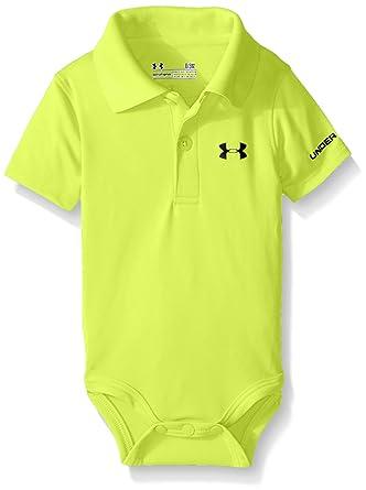 Amazon Com Under Armour Baby Boys Polo Bodysuit Clothing