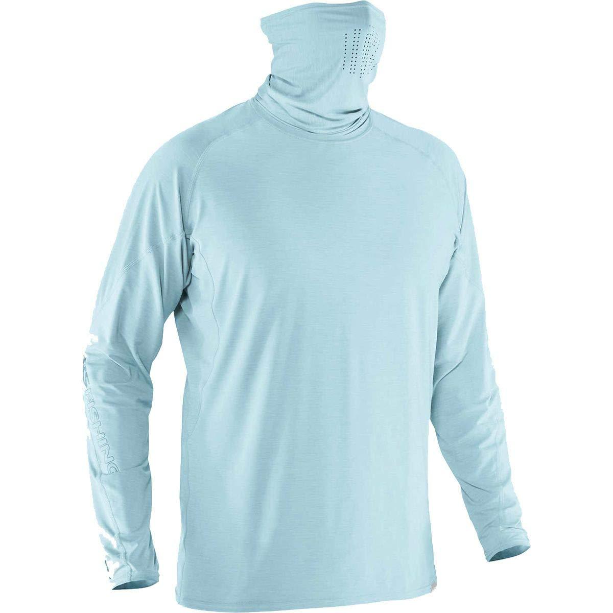 NRS Baja Long Sleeve Sun Shirt-Aquatic-M