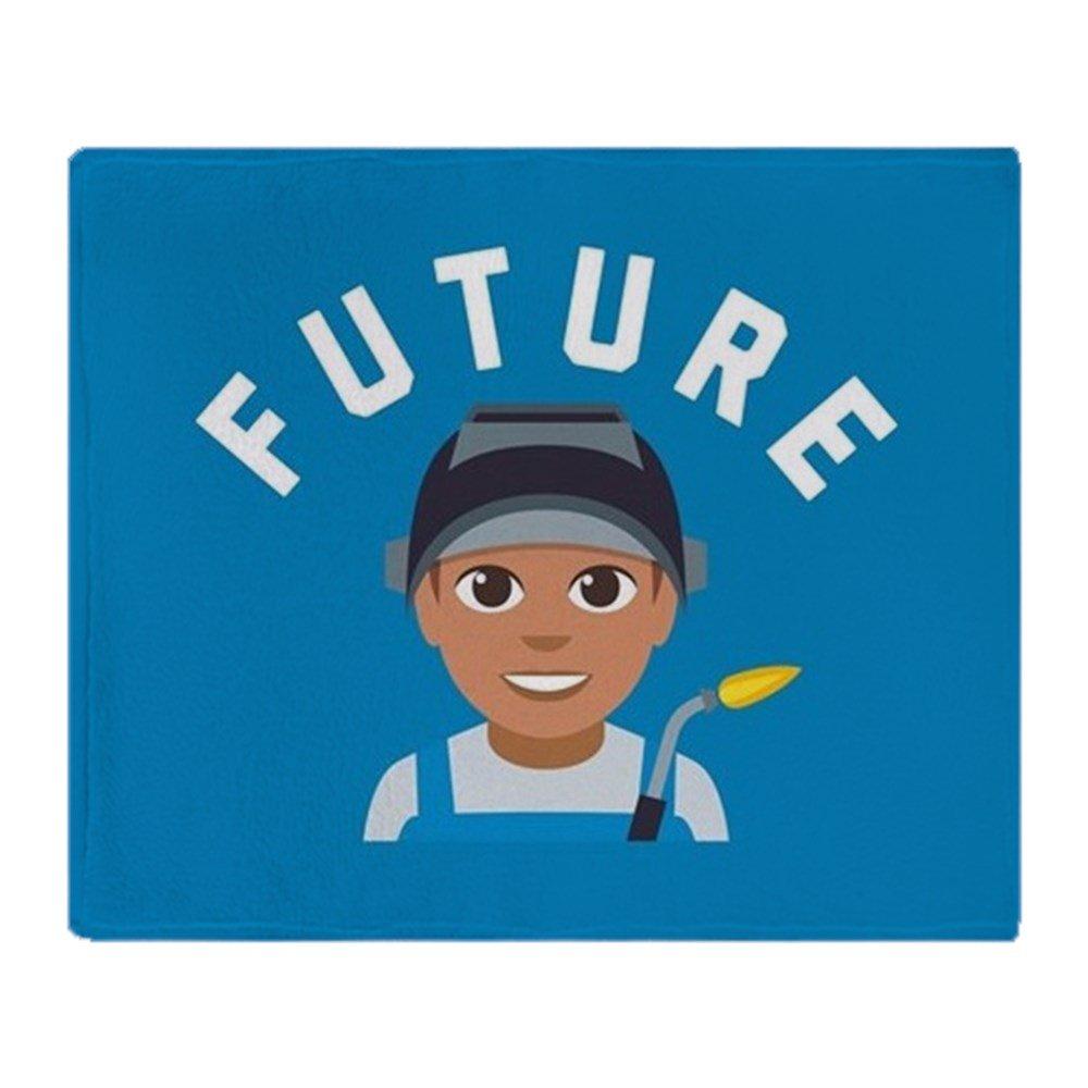 CafePress - Emoji futuro soldador - suave manta de forro polar, 50