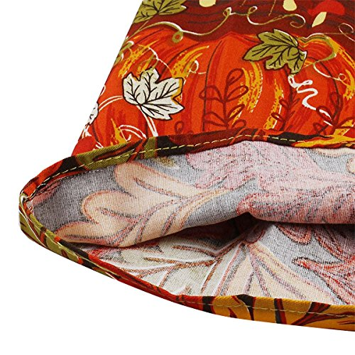 Girstunm Women's Pleated Vintage Skirt Floral Print A-Line Midi Skirts with Pockets Autumn-Melody S by Girstunm (Image #5)