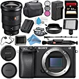 Sony Alpha a6300 Mirrorless Digital Camera (Black) ILCE6300/B + Sony FE 16-35mm f/2.8 GM Lens SEL1635GM + NP-FW50 Replacement Lithium Ion Battery + External Rapid Charger Bundle