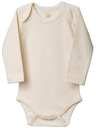 Jacky 2 Ud - 100/% algod/ón // Oeko-Tex Standard 100 // Unisex // Color: beige // blanco con ositos Talla 62//68 Bodies para beb/é de manga larga