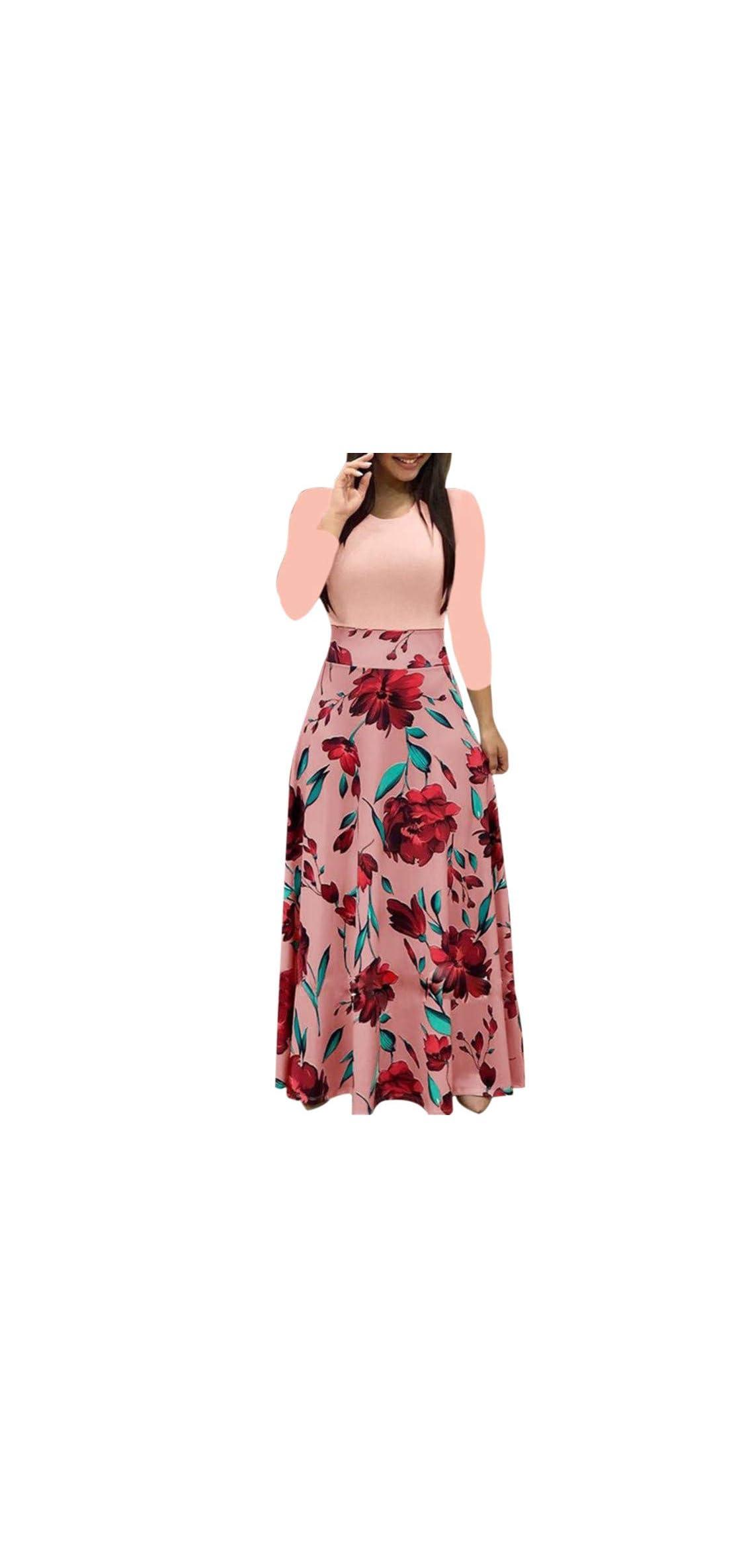Women's Elegant Dot Bodycon Work Business Party Dress
