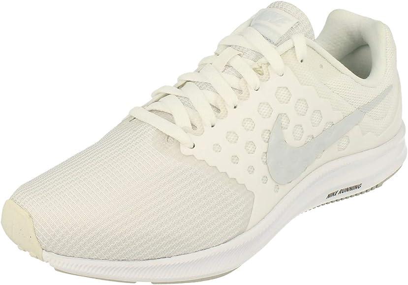 Nike Wmns Downshifter 7, Zapatillas de Running para Mujer, Blanco (Blanc/platine Pur), 40.5 EU: Amazon.es: Zapatos y complementos