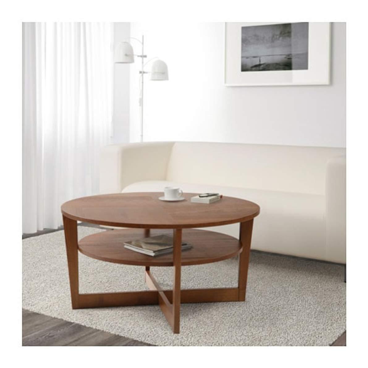 designer fashion 283de f0a51 Amazon.com: IKEA Vejmon Coffee Table Brown 903.461.63 Size ...