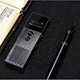 REMAX RP1 8GB Professional High Definition Voice Recorder Digital Stereo 32h HD (black)