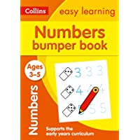 Numbers Bumper Book Ages 3-5: Ideal for Home Learning