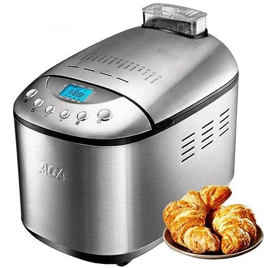 Jsmhh Acero Inoxidable máquina de Pan hogar automático Doble ...