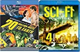 20 Million Miles to Earth (50th Anniversary Edition) Blu Ray + Classic Sci-Fi Movie Collection Megafault /Fire From Below / A Thousand Kisses Deep / Population 2