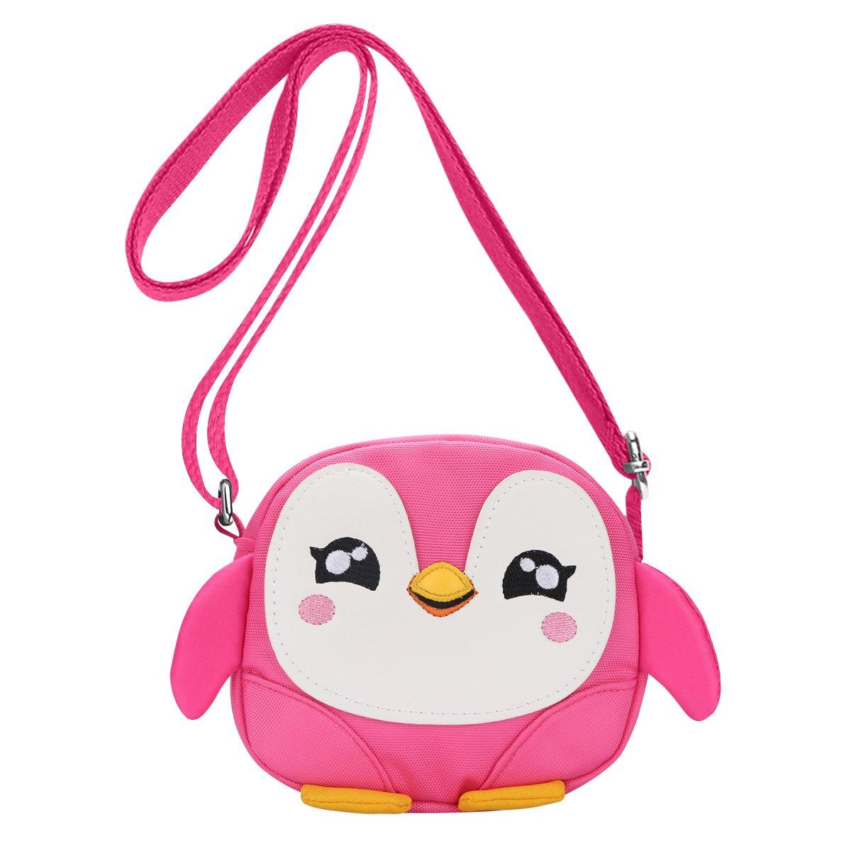 DEEKEY Little Girls Purses for Kids - Toddler Mini Cute Princess Handbags Shoulder Messenger Bag Toys Gifts Crossbody Purse by DEEKEY