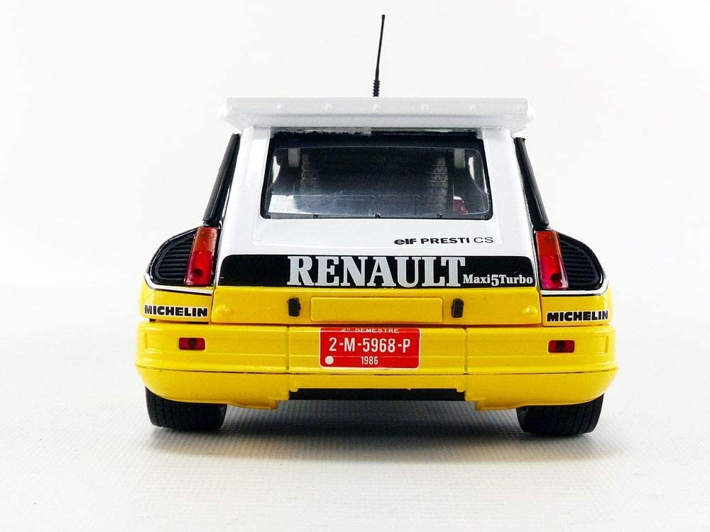NEW DECAL 1 43 RENAULT 5 TURBO ASSISTANCE  RALLY  WRC MONTE CARLO 1983
