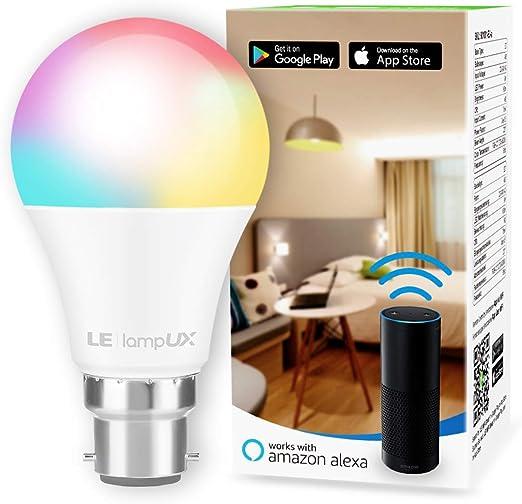 AI69 Wifi Smart LED light Bulb E27//B22 Dimmable for Amazon Alexa /& Google Home