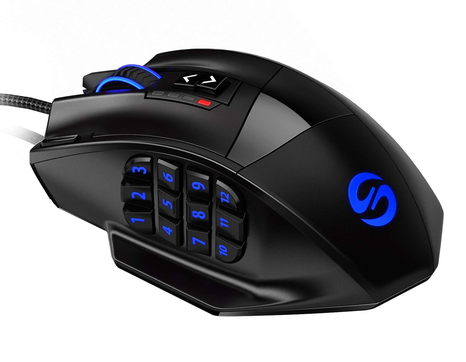 UtechSmart Venus Gaming Mouse RGB Wired, 16400 DPI High Precision Laser Programmable MMO Computer Gaming Mice [IGN's Recommendation] by UtechSmart