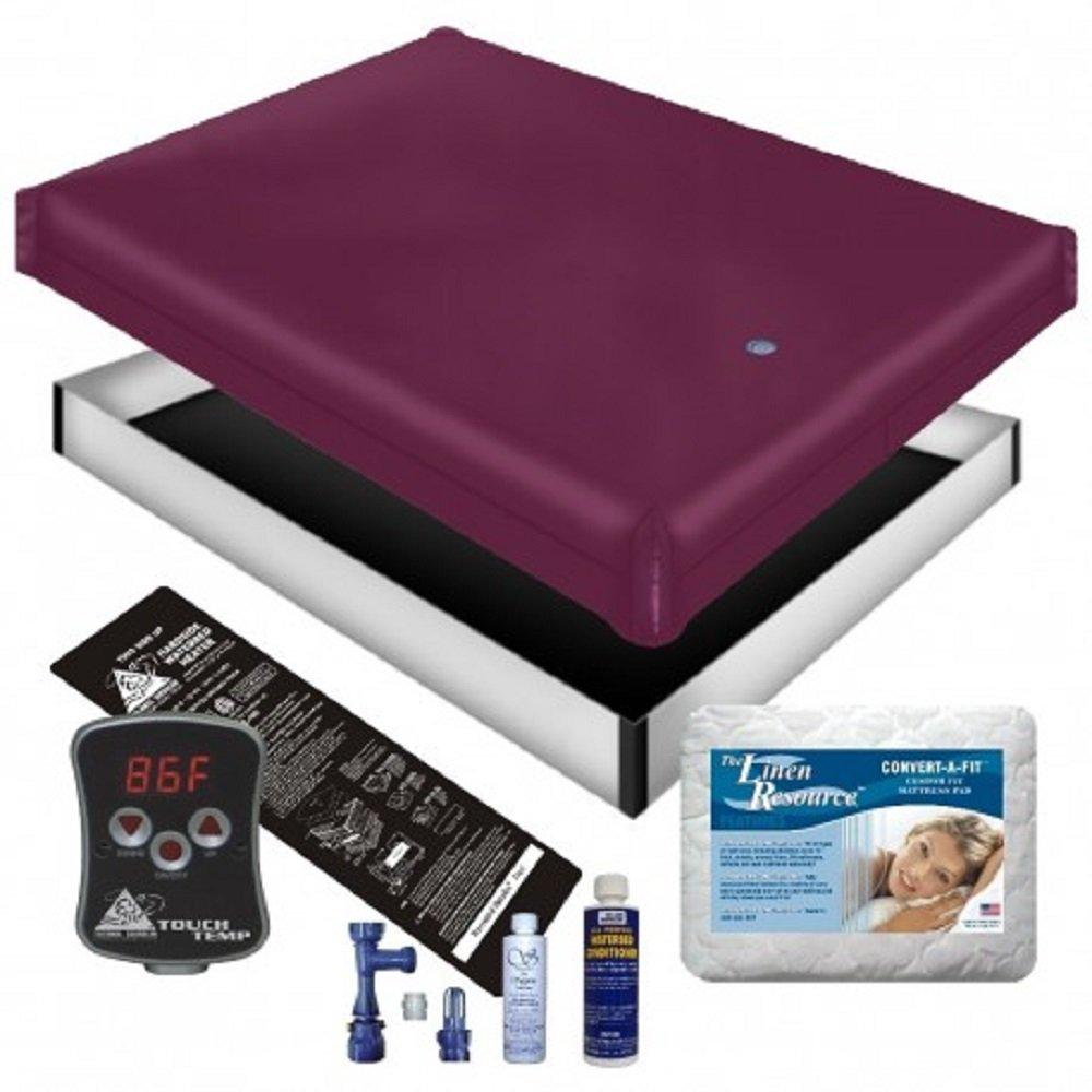 Free Flow WATERBED Mattress/Liner/Digital Heater/PAD/Fill Drain/Conditioner KIT (California King 72x84 1FFP1)