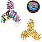 Phoenix Dragon Cool Fidgets Hand Finger Spinners Metal Focus Fingertip Gyro Anti Anxiety Stress Relief Spiral Twister…