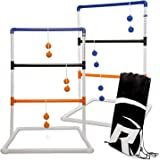 Rally and Roar Ladder Toss – Ladder Ball Toss Game – 3 OPTIONS TO CHOOSE FROM – UPDATED CLASSIC, CLASSIC, or PREMIUM – Game S