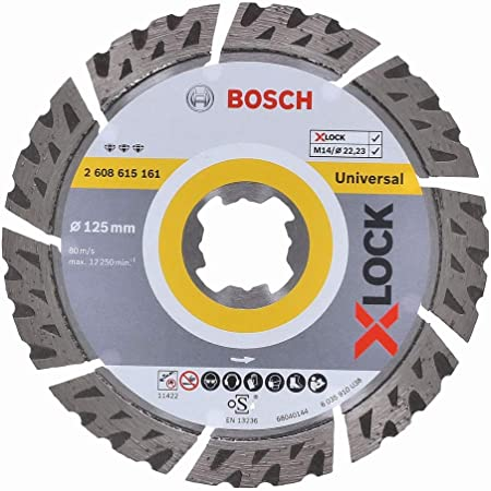 Disque /à tron/çonner diamant/é Bosch Professional Standard for Universal universel, X-LOCK, /Ø/115/mm, al/ésage/: 22,23/mm, largeur de coupe de 2/mm
