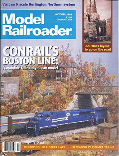 Model Railroader Magazine (October 1993) - Conrail Hopper