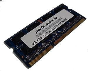 4GB Memory Upgrade for Lenovo ThinkPad E540 DDR3L 1600MHz PC3L-12800 SODIMM RAM (PARTS-QUICK Brand)
