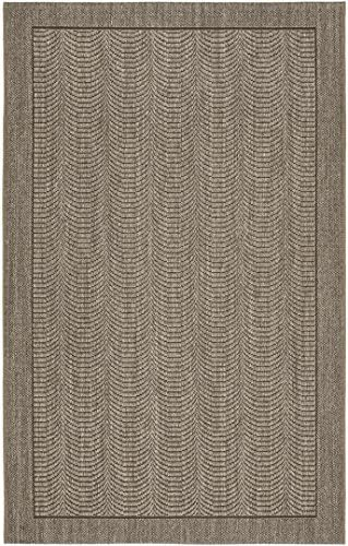 Safavieh Palm Beach Collection PAB322D Silver Sisal Jute Area Rug 5 x 8