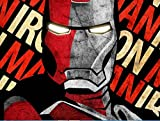 Lawrence Painting Shepard Fairey Iron Man Retro Classic Vintage Movie Poster And Print For Wall 50X75Cm Ko/376758