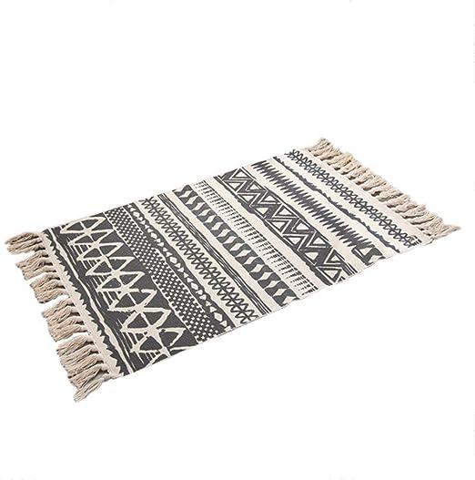 La Mode - Alfombra de Estilo nórdico, diseño de Lino y algodón ...