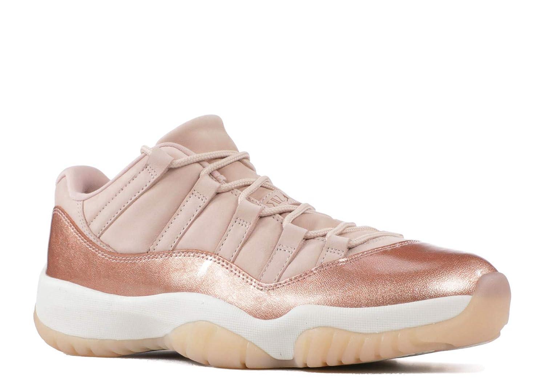 online retailer ed4da e49c2 Amazon.com   Jordan Retro 11 Low Rose Gold Sail Metallic Red Bronze (WS)    Fashion Sneakers