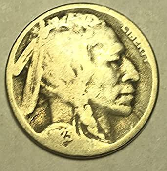 1923 S Buffalo Nickel Good Condition
