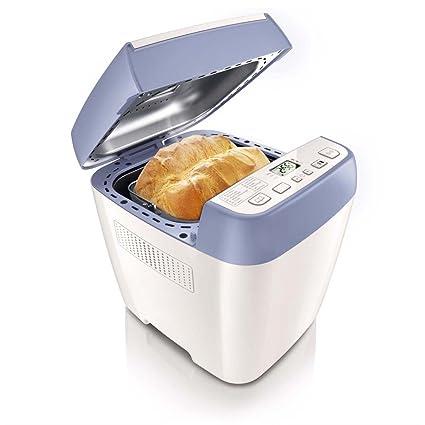 Philips - Panificadora Hd902040, 650W, 1Kg, 12 Programas, 3 Niveles Tostado,