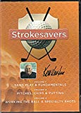 img - for Ken Venturi's Strokesavers (3 DVD Set) Vol.1- Sand Play & Fundamentals / Vol.2 Piches, Chips & Putting / Vol.3 Working the Ball & Specialty Shots (2008) book / textbook / text book