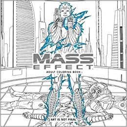 amazoncom mass effect adult coloring book 9781506702872 bioware books - Amazon Adult Coloring Books