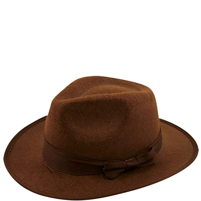 The Hat Company Indiana Jones Estilo Fedora Sombrero E13 (cm a4c12a65b34