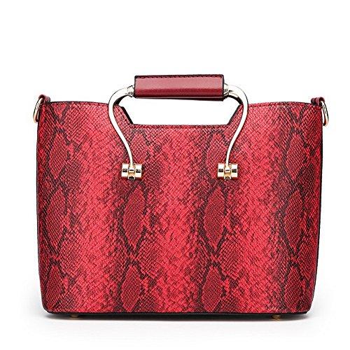 tracolla Casuale Chiaretto Satchel Borse Borse Grigio Style Donna a tracolla a CCALBP181271 Moda VogueZone009 w1IAXq