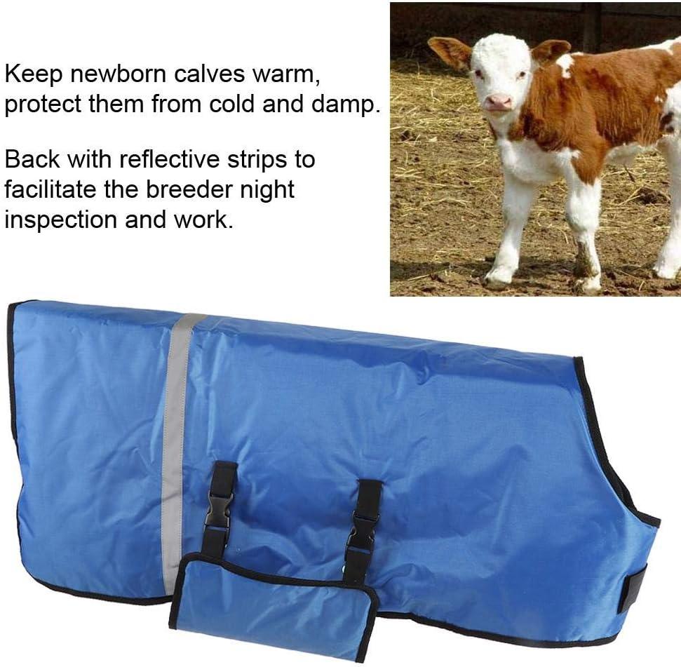 Bauernhof f/ür Ziegenbedeckung Winddicht Wadenjacke Viehzucht Tiere mit reflektierenden Streifen Oxford-Gewebe Hffheer Ziegendecke